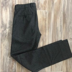 Gap work pants - grey wool straight tailored fit